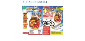 HARIBO HARIBALL BUSTINE MIX €0,20 12gr 150pz