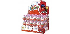 KINDER SORPRESA LADY BUG 72pz