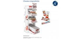 ESPOSITORE MINI PAUSA SNACK KINDER 234pz 5cf