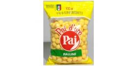PATATINE PAI PALLINE TRASPARENTI 125gr 16pz ®