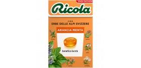 RICOLA ASTUCCIO ARANCIO/MENTA S/Z 50gr 20pz