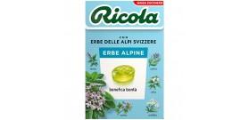 RICOLA ASTUCCIO ERBE ALPINE S/Z 50gr 20pz