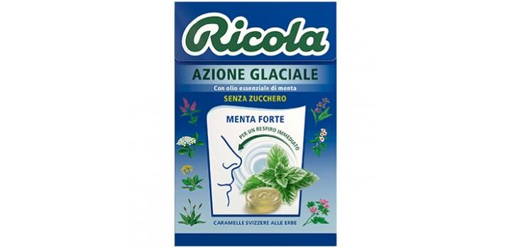RICOLA ASTUCCIO AZIONE GLACIALE S/Z 50gr 20pz
