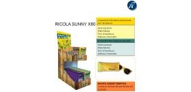 ESPOSITORE RICOLA SUNNY 80pz + OCCHIALE IN OMAGGIO