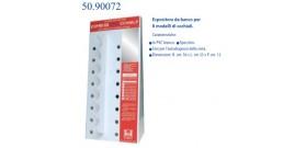 ESPOSITORE ESPRESSO OCCHIALI BANCO 8 modelli PVC IOI