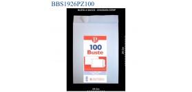 BUSTA BIANCA SACCO 19x26 (1/2fg prot.)cod.562 x100
