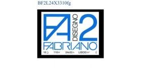 BLOCCO FABRIANO F2 LISCIO 24x33mm 110gr 10fg