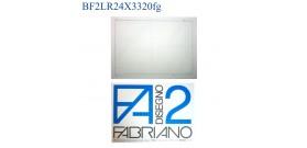 BLOCCO FABRIANO F2 RIQUADRATO LISCIO 24x33mm 110gr 20fg