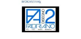 BLOCCO FABRIANO F2 RUVIDO 24x33mm 110gr 10fg