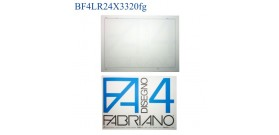 BLOCCO FABRIANO F4 RIQUADRATO LISCIO 24x33mm 220gr 20fg