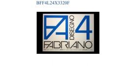 BLOCCO FABRIANO F4 LISCIO 24x33mm 220gr 20fg
