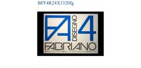 BLOCCO FABRIANO F4 RUVIDO 24x33mm 220gr 20fg