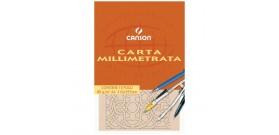 1 BLOCCO CARTA MILLIMETRATA A4 80g/m2 10fg