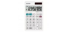 CALCOLATRICE TAVOLO EL-377W 10 cifre DOP.ALIM.7,5x12cm