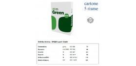 2500fg CARTA A4 21x29,7cm 75gr BIANCA GREEN 5 RISME CT