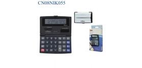 CALCOLATRICE TASCABILE CH265 12 cifre in 2 colori 7x11,5cm