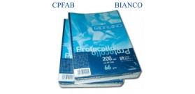 CARTA PROTOCOLLO 66gr.200FG BIANCO FABRIANO