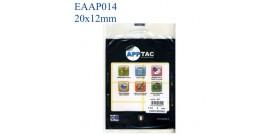 ETICHETTE ADESIVE BIANCHE 20x12mm(et.500)APPTAC