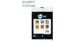 ETICHETTE ADESIVE BIANCHE 21x21mm(et.300)APPTAC