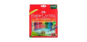 24 MATITE COLORATE+1 TEMPERINO FABER CASTELL