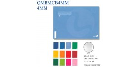 QUADERNONE MAXI COLOR BASIC BM 80fg 80gr 4MM x10