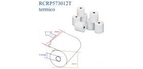 ROTOLO TERMICO 57mm x30mt x12° REGISTRATORE CASSA