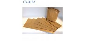 SACCHETTI CARTA ALIOS 17x34+6,5cm 220pz.ca 2,4KG