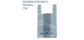 SHOPPER BIOCOMPOSTABILI MAXI 30+20x60cm 13gr x500
