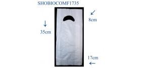 SHOPPER BIOCOMPOSTABILI FAGIOLO 17+4+4x35cm(1333pz ca)5KG